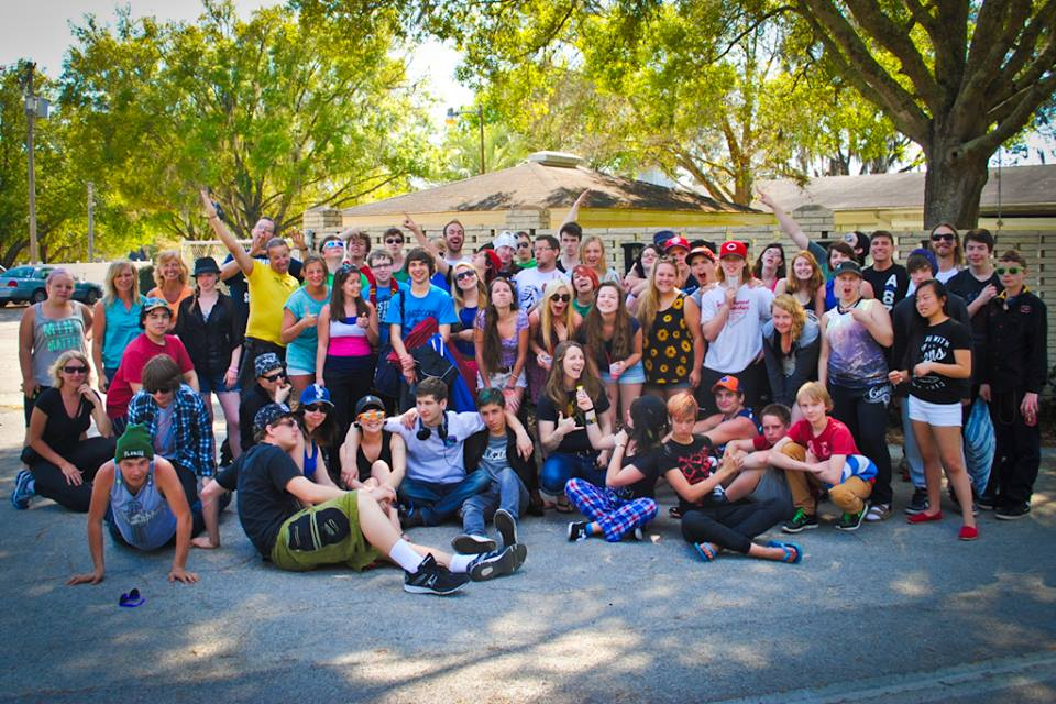 southbound group shot